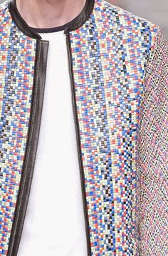 patternprints journal: PRINTS, PATTERNS AND DETAILS FROM RECENT MILAN FASHION WEEK (MENSWEAR SPRING/SUMMER 2015) / Fendi