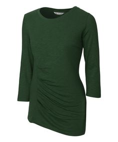 Green Plaza Tee - Plus Too #zulilyfinds