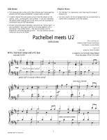 Pachelbel meets u2
