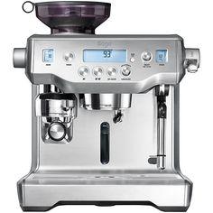 Buy Sage By Heston Blumenthal The Oracle™ Espresso Coffee Machine, Silver   John Lewis