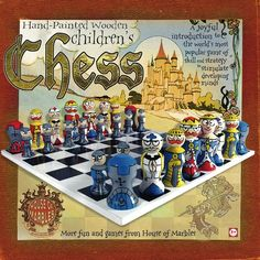 Childrens Chess Set >>> Continue to the product at the image link.
