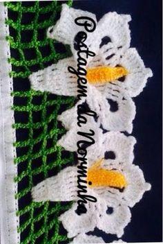 OFICINA DO BARRADO: Croche - um Barrado diferenciado ...