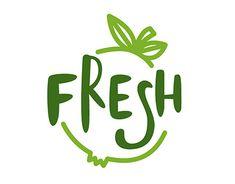 Food Logo Design, Logo Food, Food Company Logo, Juice Company, Logo Patisserie, Shop Banner Design, Juice Logo, Fruit Logo, Photoshop