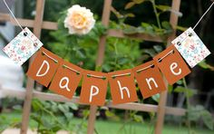 Vintage banner from TheOhSoSweetLife