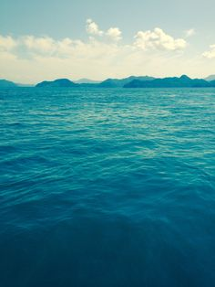 The inland Sea of Japan