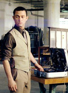 "Joseph Gordon-Levitt portrays the character of Arthur in the movie ""Inception""......"