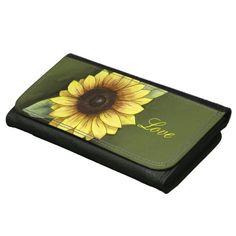 Sunflower Love Wallet