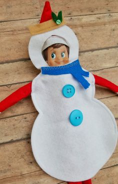 Elf on the shelf hijinks just got easier with Flurry, our original Elf snowman costume! #ChristmasTraditions #HolidaysHandled
