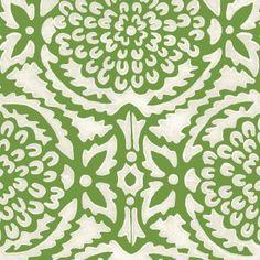 Gorgeous print for wallpaper. Pomegranate | Galbraith & Paul