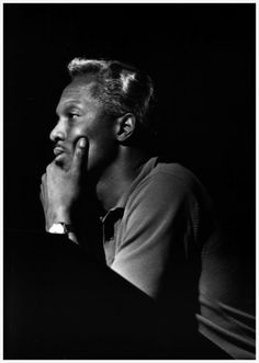 Brother Jack McDuff during Grant Green's Grantstand session, Englewood Cliffs NJ, August 1 1961 (photo by Francis Wolff)