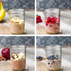 Smoothie recipes 578149670886052091 - Healthier Instant Oatmeal Source by cindyzimzim Healthy Desayunos, Healthy Breakfast Recipes, Healthy Snacks, Breakfast Smoothies, Healthy Breakfasts, Breakfast To Go, Healthy Oatmeal Breakfast, Healthy Brunch, Healthy Recipes