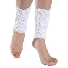 Womens Knitted Boot Cuffs/Socks/Leg Warmers-Crochet