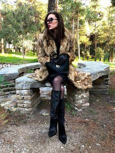#ShopStyle #ssCollective #MyShopStyle #ootd #mylook #lookoftheday #currentlywearing #todaysdetails #getthelook #wearitloveit #shopthelook #walenti #fashion #fashionlook #fashionblogger #streetstyle #style #blogger #furcoat #black