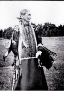 Rattling Blanket Woman, mother of Crazy Horse. 1814-1844.