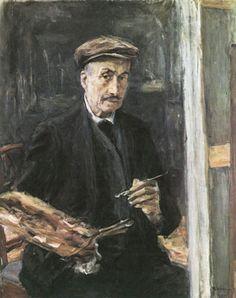 Self-portrait by Max Liebermann