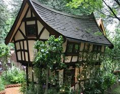 fairy tale cottages around the world | Fantasy house features Japanese style