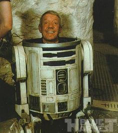 Kenny Baker, the actor for R2-D2.