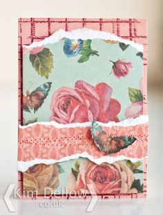 Clare Curd Crafts: Butterfly Rose ATC By Kim Dellow