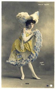 Moulin Rouge Dancers | The Sum Of All Crafts: Dance The Can-Can In Fashion