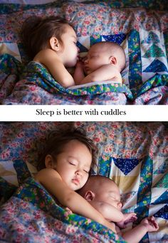 Co sleeping at its best :)
