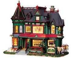 Lemax Caddington Village: 12 Days of Christmas Manor, with 4.5v Adaptor Elf Christmas Decorations, Lemax Christmas Village, Lemax Village, Christmas Villages, Christmas Traditions, Christmas Ornaments, 12 Days Of Christmas, Christmas Holidays, Christmas Stuff