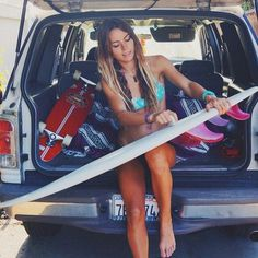 Surfing holidays is a surfing vlog with instructional surf videos, fails and big waves Surf Girls, Beach Girls, Beach Bum, E Skate, Summer Surf, Surf Trip, Surf City, Surf Style, Strand