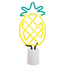 SunnyLife PINEAPPLE Neon Light Large. Pineapples shine bright in neon. Make any corner of your space a little showier with these Vegas inspired lamps. Featuring a dimmer so you can adjust your level of fabulousness. | eBay!