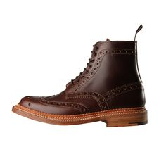 The Fred boot from Grenson is given the Triple Welt treatment for AW15