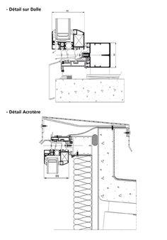 neuf tap es rapport es monobloc appuis align et d cal facade menuiseries d tails. Black Bedroom Furniture Sets. Home Design Ideas