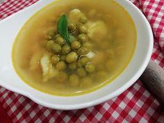 Jednoduchá rascová polievka s cestovinou, extra lacný RECEPT Beans, Soup, Vegetables, Ethnic Recipes, Vegetable Recipes, Soups, Beans Recipes, Veggies