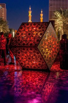 Arte.'HYBYCOZO' by Yelena Filipchuk and Serge Beaulieu / Photo © Islamic Arts Magazine