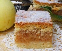Almás-túrós sütemény - A recept beküldője myTaste Cornbread, French Toast, Breakfast, Ethnic Recipes, Food, Meal, Eten, Meals, Sweet Cornbread