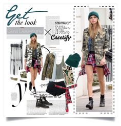 """""""Layer it up ♰"""" by casetify ❤ liked on Polyvore"""