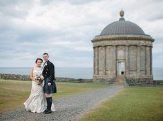 Mussenden Temple, Northern Ireland   24 Breathtaking British Wedding Venues