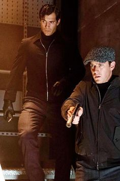 """"""" Henry Cavill [Napoleon Solo] and Armie Hammer [Illya Kuryakin] featured in new still from Guy Ritchie's The Man From U.N.C.L.E., Total Film February 2015 Issue. [via HCO] """""""