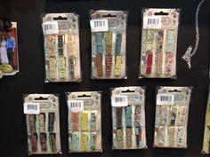 *Coming Soon* Brand New Prima Wood Embellishments and Washi Tape - Scrapbook.com