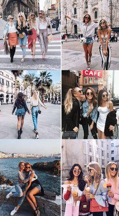 Ideias de Fotos Com as Amigas, Inspiração de fotos para tirar com as amigas, ideias foto amigas, ideias de foto amiga, fotos na praia