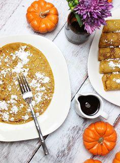 cardamom pumpkin crepes | alisaburke | Bloglovin