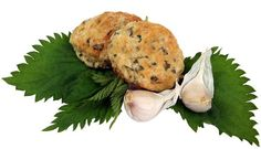 Nettle Garlic Buttermilk Biscuits