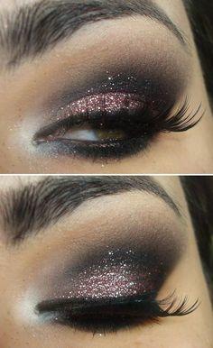 Good makeup idea, minus false eyelashes. Replace with 3D fiberlash mascara!!