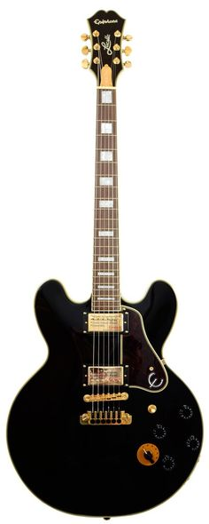 Epiphone B.B. King Lucille Semi Acoustic Electric Guitar Ebony #epiphone #guitar