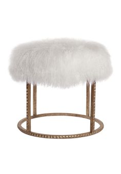spaces for home | stud pouf ottoman