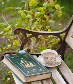 Coffee and a book by mesha1990 on Flickr