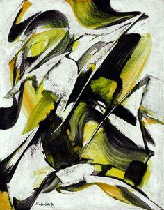 Karl-Otto Götz, Untitled, 1954