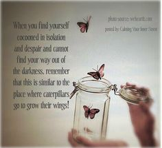 You are not alone and may be just another butterfly