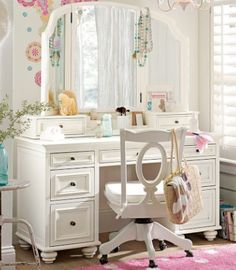vanity desk with mirror | ... Vanity on And There Was No Way I Was Shelling Out 1000 For A Vanity