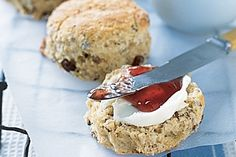 Try these healthier wholemeal scones with sultanas to avoid guilty indulgences.