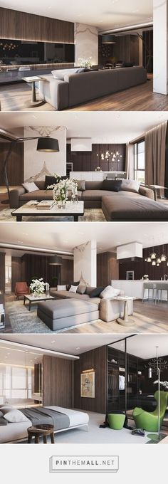 Interior Living Room Design Trends for 2019 - Interior Design Living Design, House Design, Living Room Designs, Luxury Interior, Apartment Design, House Interior, Interior Architecture, Room Design, Apartment Interior
