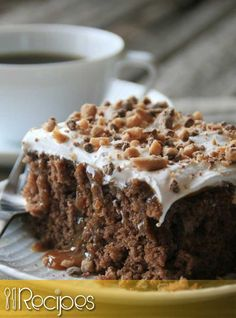 Ingredients : 1 (12 ounce) can Diet Coke 1 (18 ounce) box devil's food cake mix 1 egg white 6 ounces fat free caramel topping 7 ounces fat-free condensed milk 1 english toffee-flavored candy …