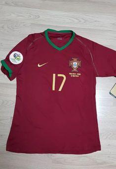 25011dcfc 2006 Portugal Match Unworn Player Issue Cristiano Ronaldo Football Shirt ⚽  ⚽ ⚽ More details here 👇 Footballshirtfinder.blogspot.com  footballshirts  ...